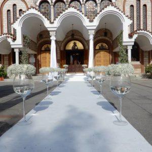 Στολισμός Γάμου Σκάλες- Διάδρομος