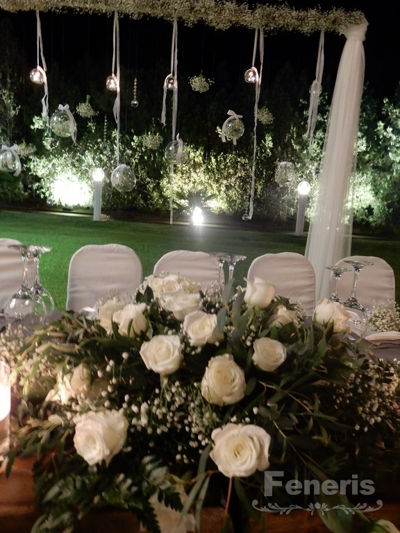 Στολισμός Αίθουσας γάμου Allea