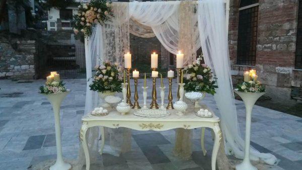 Στολισμός Γάμου Αγ Σοφίας