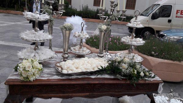 Στολισμός Γάμου Μέταλλο σε Ξύλο