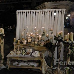 Στολισμός Γάμου Αγ. Μαρίνα Τούμπα