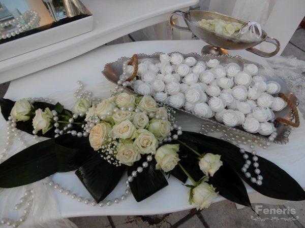 Στολισμός Γάμου Λευκός με Φτερά
