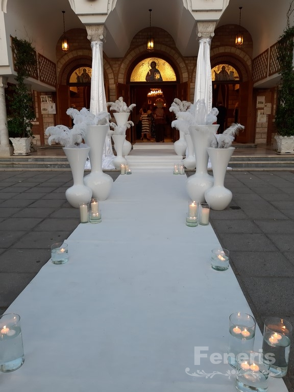 Στολισμός γάμου Διάδρομος 2