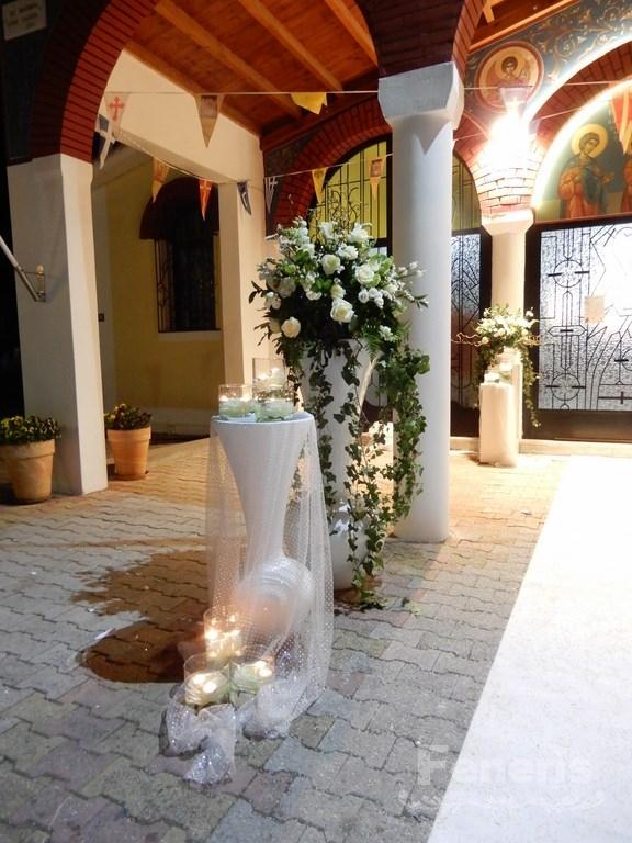Στολισμός γάμου Διάδρομος