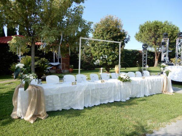 Στολισμός γάμου σε Κτήμα