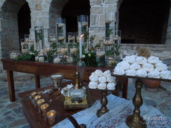 Στολισμός Γάμου Τριαντάφυλλα