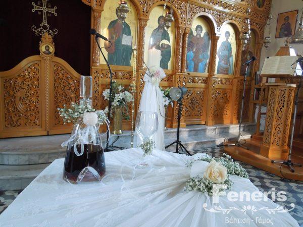 Στολισμός γάμου Καρδία