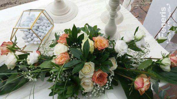 Στολισμός αίθουσας δεξίωσης γάμου