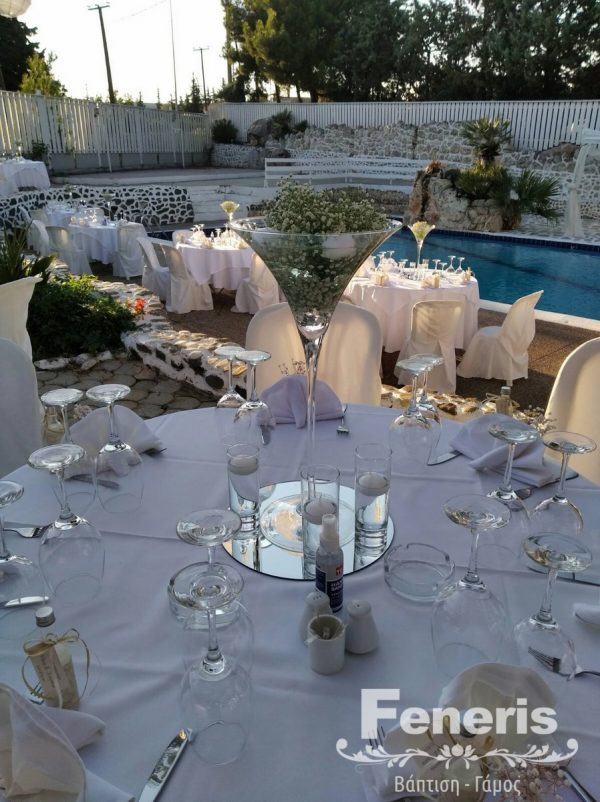 Στολισμός Αίθουσας γάμου Δηβέλια